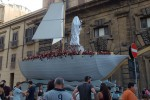 Tolto il velo alla statua della Santuzza: così è iniziato il Festino a Palermo - Video