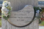 La stele in memoria di Livatino