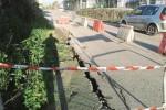 Strada franata a Favara, niente soldi per i lavori