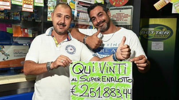 vincita superenalotto palermo, Palermo, Cronaca