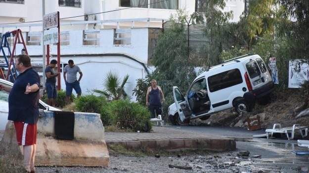 terremoto kos, Sicilia, Mondo