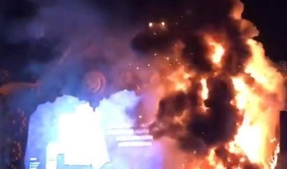 incendio festival spagna, Sicilia, Mondo