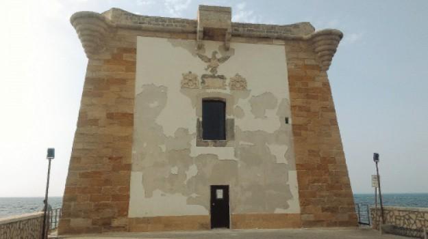 torre lingny trapani, Trapani, Cronaca
