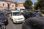 Cantieri in corso re Ruggero, disagi per il traffico nella zona di piazza Indipendenza - Video