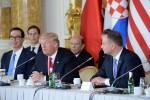 Donald Trump in visita in Polonia - Ansa