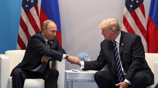 g20 amburgo, Russia, Stati Uniti, Donald Trump, Vladimir Putin, Sicilia, Mondo