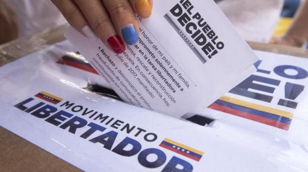 Referendum in Venezuela, Sicilia, Mondo
