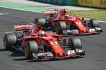 In Ungheria prima fila tutta rossa: Vettel in pole