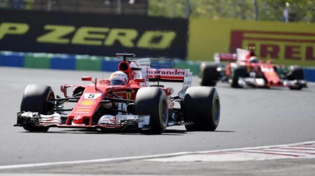 Doppietta Ferrari, Sebastian Vettel, Sicilia, Sport