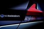 Dettaglio del posteriore per nuovo teaser Nissan Leaf