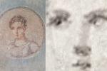 I raggi X svelano il ritratto di un'antica donna romana a Ercolano