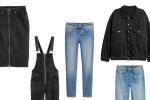 Da H&M nuova linea donna denim in cotone riciclato
