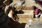 Sarcofagi romani vicino Stadio Olimpico