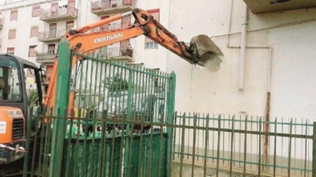 demolizioni palma di montechiaro, Agrigento, Cronaca