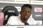 Gnahorè soddisfatto: buona partita col Cagliari, in Serie B possiamo far bene