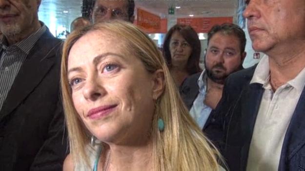 regionali sicilia 2017, Giorgia Meloni, Sicilia, Politica