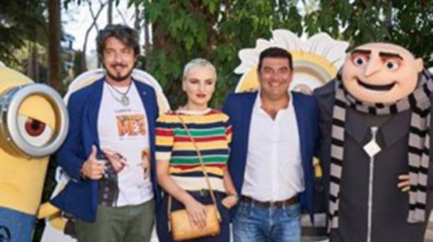 Rgs al cinema, intervista a Max Giusti, Arisa e Paolo Ruffini