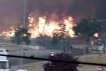 Piazza Armerina, fiamme vicino all'ospedale. Coldiretti: provincia massacrata dai criminali