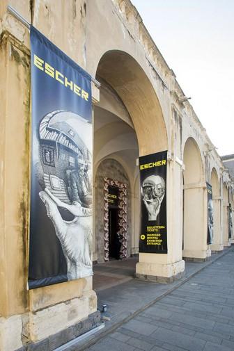 Ferragosto in sicilia all 39 insegna dell 39 arte da escher a for Escher mostra catania
