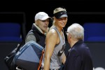 La Sharapova torna a Melbourne dopo la squalifica per doping - Video