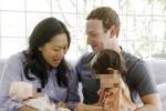 """Mark Zuckerberg di nuovo papà, è nata August: """"Benvenuta al mondo"""""""