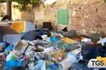Emergenza a Palermo, diversi i cumuli di rifiuti sparsi per la città