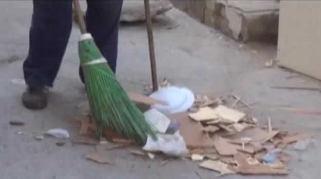 Rifiuti, insuccesso per il servizio di spazzamento a Palermo