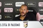 """Palermo, Pomini: """"Vogliamo vincere"""". Intanto altra tegola: si è fermato Rolando"""