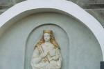 Dopo i raid vandalici, l'altarino di Sant'Agata è restaurato e videosorvegliato