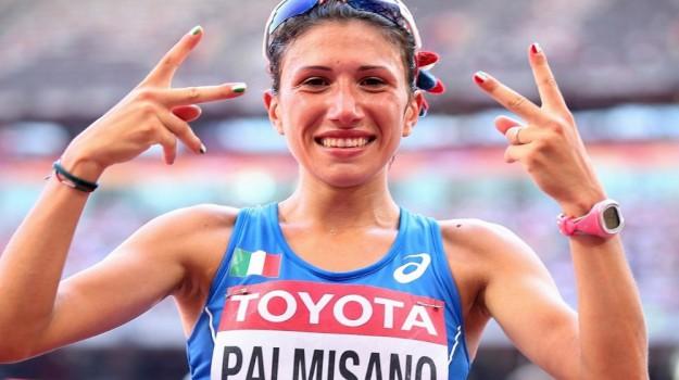 atletica, mondiali atletica londra, Antonella Palmisano, Sicilia, Sport
