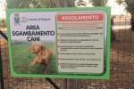 A Ragusa nasce un'area attrezzata per i cani