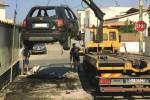 A San Leone a fuoco due auto nella notte