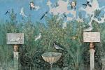 In Antiquarium Boscoreale pittura Casa Bracciale d'oro