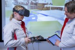Realtà aumentata con occhiali 3D per training operai Audi