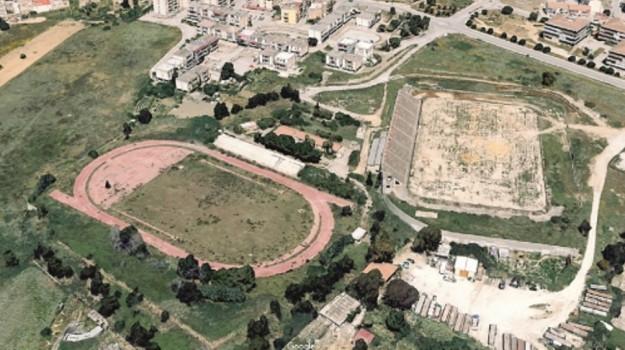 Campo di atletica a Villaseta, Agrigento, Economia