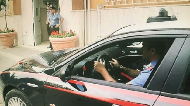 carabinieri furto, Messina, Cronaca