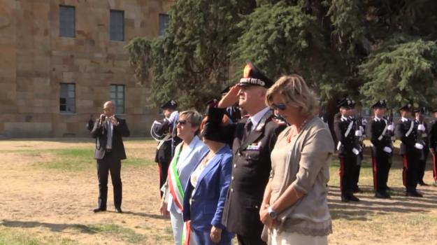 Commemorazione del colonnello Russo e del professor Costa a Ficuzza