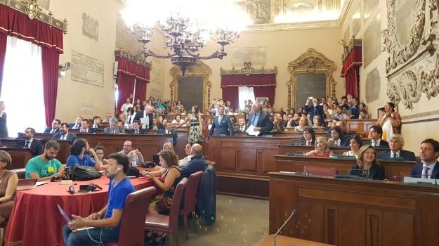 bilancio 2017, consiglio comunale palermo, Barbara Evola, Giusto Catania, Palermo, Politica