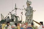 Festino a Mazara, il giallo della sfilata a mare