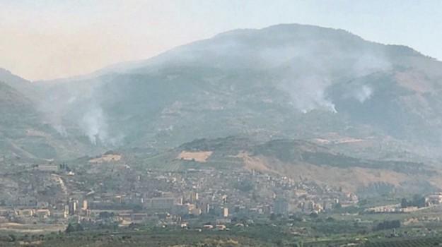 incendio burgio, Agrigento, Cronaca