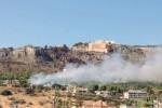 Paura a Caltanissetta, le fiamme lambiscono decine di villette