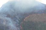 Ancora in fiamme il bosco di Casaboli: le immagini da Monreale