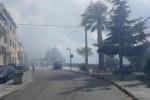 Incendio a San Salvatore di Fitalia, evacuate venti abitazioni