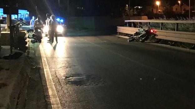 incidente stradale trapani, Trapani, Cronaca