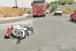 Scontro a Marsala tra una moto e un'auto, tre giovani feriti