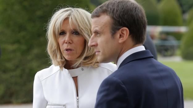 francia, Brigitte Macron, Emmanuel Macron, Sicilia, Mondo