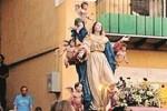 """Festa dell'Assunta, l'""""abbraccio"""" dei fedeli a Caltanissetta"""