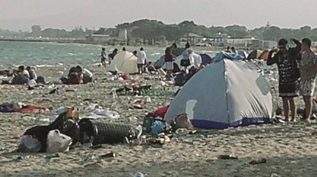 Spiaggia di Marausa, Trapani, Cronaca