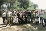 I Marines di Sigonella «liberano» il Castello Eurialo da erbacce e sterpaglie