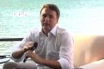 Renzi a Palermo, dal libro al colloquio con Crocetta e Raciti - Video